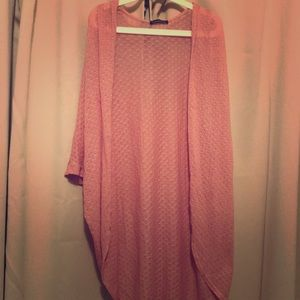 Pink light cardigan